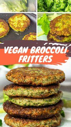 Vegan Snacks, Vegan Food, Vegan Vegetarian, Vegetarian Recipes, Paleo, Broccoli Recipes, Veggie Recipes, Gluten Free Recipes, Whole Food Recipes
