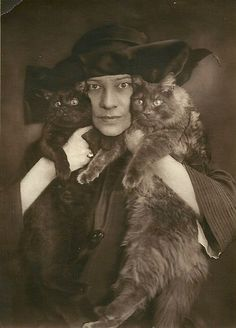 Tilla Durieux (1880-1971), a renowned Austrian actress of the first decades of the 20th century