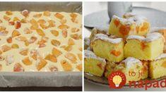 Jogurtová bublanina ľahká ako pierko: Za minútku pripravená, mäkučká a chutí božsky! Cereal, Dairy, Food And Drink, Cheese, Breakfast, Cake, Apples, Basket, Pie Cake