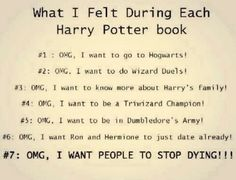 Also true for #7: OMG, I don't want it to end! I wish this book could go on forever.