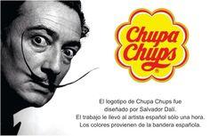 #Logotipos famosos y sus creadores Salvador Dali, Insight, Branding, Logos, Movie Posters, Gaudi, Spanish, Barcelona, Famous Logos