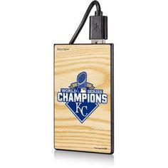 Kansas City Royals World Series Champs 2015 2200mAh Credit Card Powerbank by Keyscaper, Multicolor