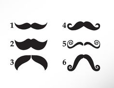 DIY GLASS ETCHING STENCILS | Mustache Stencil Vinyl Sticker Decal for DIY Glass Etching Cream or ...