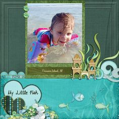 My Little Fish. Digital layout by P-cess