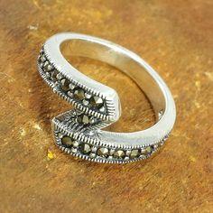 4 gr. Ring Size 6 Antique Look Stunning 92.5 silver fine Handmade Ring #Handmade