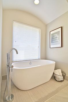 Freestanding Tub in Master Bathroom by Stonebridge Design + Build