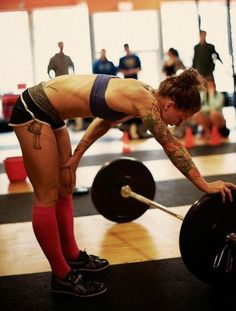 barbells and tatts