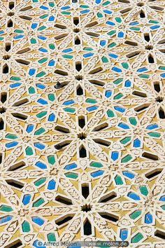 12 Islamic pattern mosaic