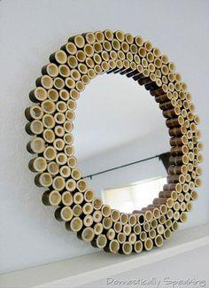 Bamboo Sunburst Mirror - Domestically Speaking