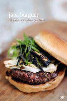 Japa burguer - homemade japanese style hamburger