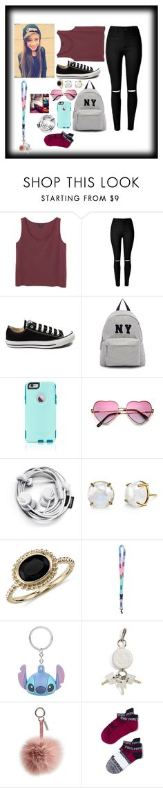 """""""First day of collage---Allie---Read d!!"""" by calums-kinda-hot-tho ❤ liked on Polyvore featuring Monki, Converse, Joshua's, OtterBox, Blue Nile, Vans, Disney, Alexander Wang, Fendi and women's clothing"""