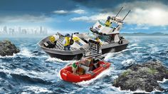 Lego City, Police Boat, March 2016