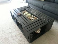 Coffee Tables 49 Interior Ideas Pinterest Wood crates Crate