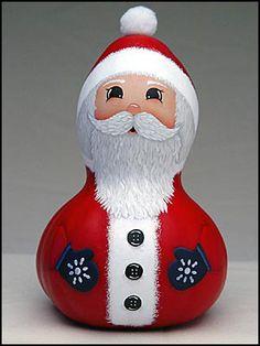 Ho! Ho! Ho! Santa Gourd