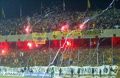 Στιγμες απο την σκεπαστή! Ultras Football, Samos, Athens Greece, Spirit, Neon Signs