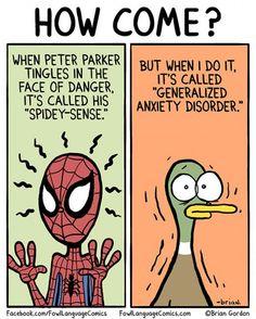 My Spidey-Sense