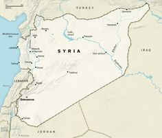 Washington Post. Events in Syria since Aug 25. ThingLink Interactive Image.