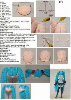 Easy Crochet Stitches, Easy Crochet Patterns, Crochet Patterns Amigurumi, Amigurumi Doll, Crochet Dolls, Crochet Sandals, Sweater Knitting Patterns, Crochet For Kids, Crochet Crafts