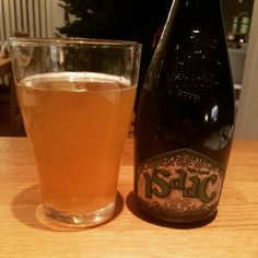 2014 Beer Advent Calendar-Day 22: Off to Italy for an unpasteurised Birra Spesiale, Isaac from Baladin which is on sale in many bars and restaurants in Norway for some reason. Good stuff though! #beeradventcalendar