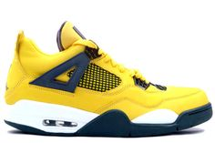 more photos b18c8 8a193 Buy 314254 702 Air Jordan IV 4 Retro Mens Basketball Shoes Tour Yellow Grey  from Reliable 314254 702 Air Jordan IV 4 Retro Mens Basketball Shoes Tour  Yellow ...