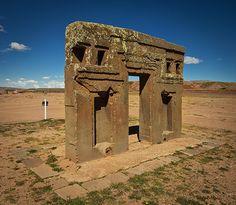 Puerta del Sol, Tiwanaku - Bolivia