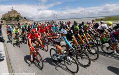 Stage 1 2016 TdF - Utah Beach (photo: Media - PezCycling News)