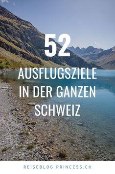Entdecke über 50 Ausflugsziele in der ganzen Schweiz. Graubünden, Zentralschweiz, Tessin, Zürich, Bern, Westschweiz und in der Ostschweiz. Zahlreiche Ausflugstipps vom wandern über Städtereisen bis hin zu Wellness. Lass dich mit Reise-Tipps inspirieren! Zermatt, Wallis, Bern, Wellness, Road Trip Destinations, Beautiful Places, Travel Advice, Hiking
