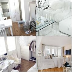 all white interiors <3 Perfect.