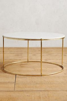 marble coffee table brass hardware