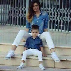 Outfit mamá e hijo