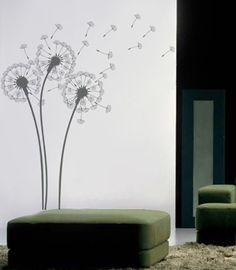 Pop Decors Wall Decals for Nursery Room, Dandelions Pop Decors http://www.amazon.com.mx/dp/B004KFVZL4/ref=cm_sw_r_pi_dp_G1ZLvb0T7HAQK