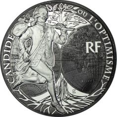 10 Euro Silber Candide PP