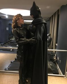 "BTS pictures from the ""Gotham"" series finale, with Lili Simmons as Selina Kyle/Catwoman and Mikhail Mudrik as Batman. Gotham Series, Gotham Tv, Gotham Girls, Tv Series, Batman Arkham City, Batman And Catwoman, Batman Comic Art, Batman Artwork, Batman Robin"