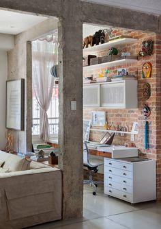 Casa dos sonhos - Vintage e moderno, tudo junto - Ricota Não Derrete
