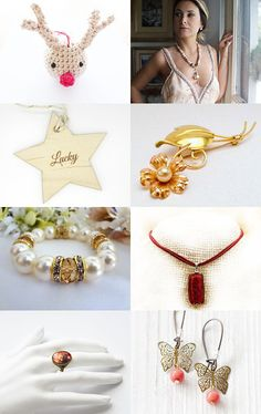 Holiday shopping! by Ilona Rudolph on Etsy--Pinned with TreasuryPin.com