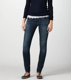 Skinny Jean - these jeans are a great fit, and the best part, under fifty dollars