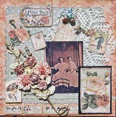 A Lady's Diary...beautiful use of ephemera.