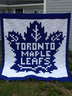 Toronto Maple Leaf Quilt 125 Fowlers Corners