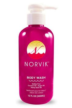 Norvik Shower Gel w/Coconut Oil 12oz