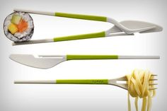 Dual-Cuisine Utensils : Utensil Sets