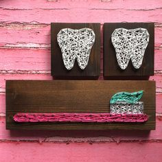 Ive never been one to be a fan of going to the dentist but that doesnt mean they arent great at their jobs! Know a dentist or dental hygienist you want to show a little love to? This mini toothbrush board is a great way to say thanks for taking care of your pearly whites! Its also
