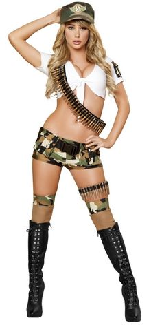 Sexy Army Costumes, Adult Army Costumes, Sexy Womens Military Costumes