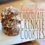 Dairy-Free Chocolate Crinkle Cookies