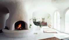 earth houses - vetsch architektur | #fireplace #inspiration