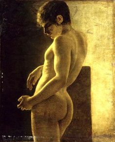 necspenecmetu: Workshop of Jacques-Louis David, Male Academie, century Beauty In Art, Male Beauty, Monsieur Jean, Image Favorites, Dark Artwork, Art Of Man, Portraits, Guy Drawing, Old Master
