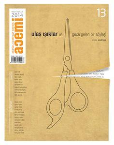 Acemi edebiyat dergisi kapak tasarımı sayı- 13