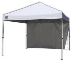 Quik Shade Canopy. 10 ft. x 10 ft. Commercial White Instant Patio Canopy with Wa - contemporary - outdoor umbrellas - Home Depot