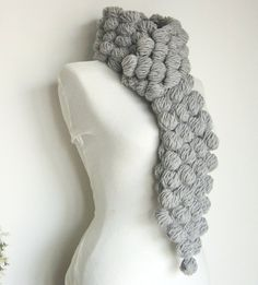 Multibubble ScarfCloud by Clariceonline on Etsy