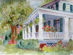 Barb Clarke ... The Porches Of Maysville