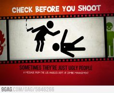 Check before you shoot
